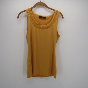The Limited Yellow Sleeveless Top Size Medium